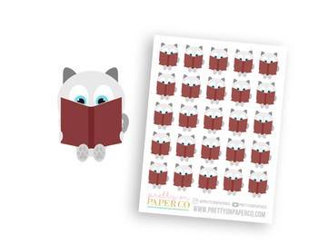 Baymax Reads - Planner Stickers