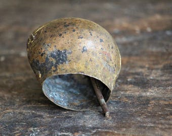 Sheep Bell - Goat Bell - Antique Bell - Farm Bell - Primitive Bell - Vintage Bell - Small Bell - Cottage Decor - Rustic Decor