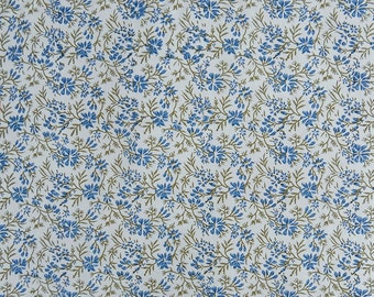 "Antique Fabric, Floral Print, White Fabric, Clothing Fabric, Home Decoration, 44"" Inch Cotton Fabric By The Yard ZBC8875B"