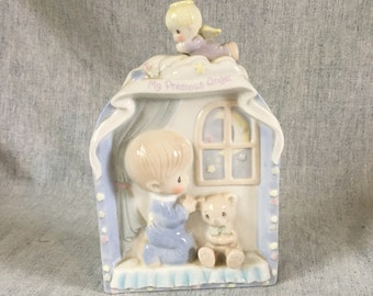 "Vintage Precious Moments, ""My Precious Angel"" Wall Plaque 1995"