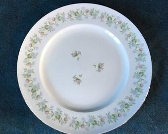 Vintage Johann Haviland Forever Spring Dinner Plate