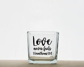 Personalized Wedding Candle Holder, Wedding Candle Centerpiece, Candle Holder, Wedding Candle Holder, Wedding Centerpiece, Wedding Favor