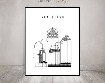 Skylines black & white