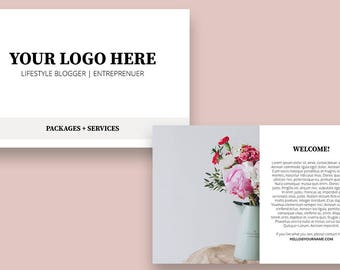 Photography Services Brochure   Template Brochure  