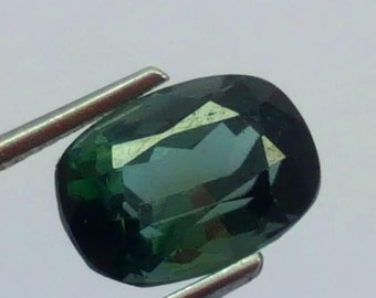 1.70 Carat Green Color Loose Gemstone Tourmaline @ Afghanistan12  10*7*6.5mm