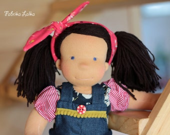 Martha, waldorf inspired doll