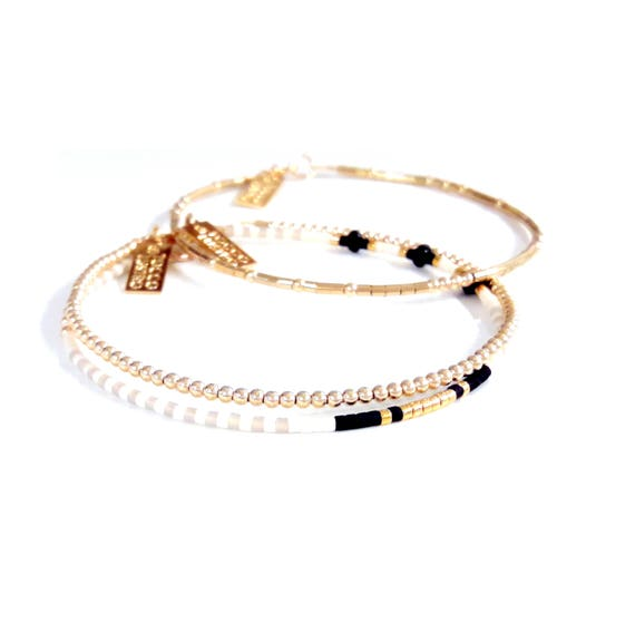 Thin Gold Chain Bracelet: Delicate Gold Bracelet / Dainty Chain Bracelet / Thin Gold