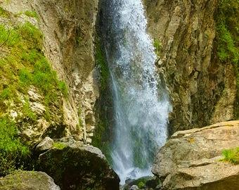 Drift Creek Falls Oregon Color Photography Print