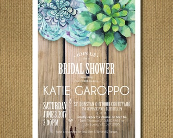PRINTABLE | Bridal Shower Invitation