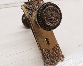 Antique door knob Etsy