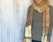 Scarf Crochet PATTERN - O...