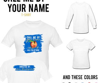 Call me by your Name | Movie T-shirt & Jumper | Movie Merchandise