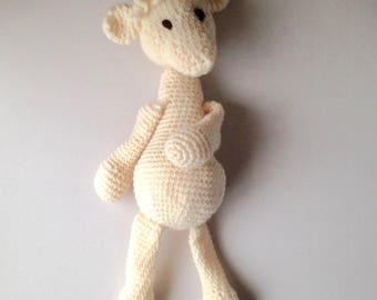 "Crochet Llama, ,Llama amigurumi, crochet Alpaca, Alpaca toy, 18"" high, handmade - Amigurumi Llama crochet, Plushie, gift, present, animal"