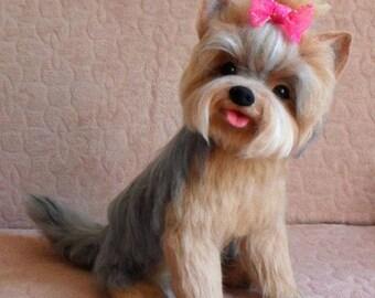 Yorkshire Terrier, felting
