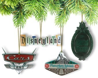 Disneyland Resort Attraction Sign Ornaments (Mix & Match your Favorites)