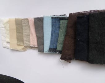 "Linen fabric gray white oatmeal natural pink blue green fabric flax cotton fabric by yard by the meter width 260cm 102""inch for bed linen"