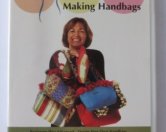 Handbag DVD, Hip Line Media Presents Making Handbags, Beginners thru Advanced, Design Your Own Handbags
