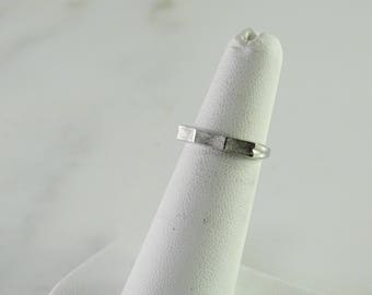 Sterling Stack Ring Size 5
