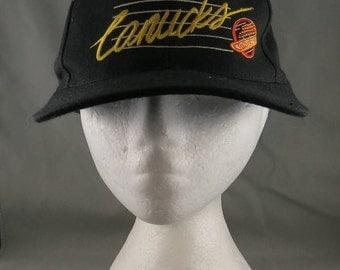 Vancouver Canucks Hat (VTG) - Wool Script - By Wilson Vancouver - Snapback