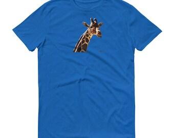 LowBeeTees Reticulated Giraffe Tee