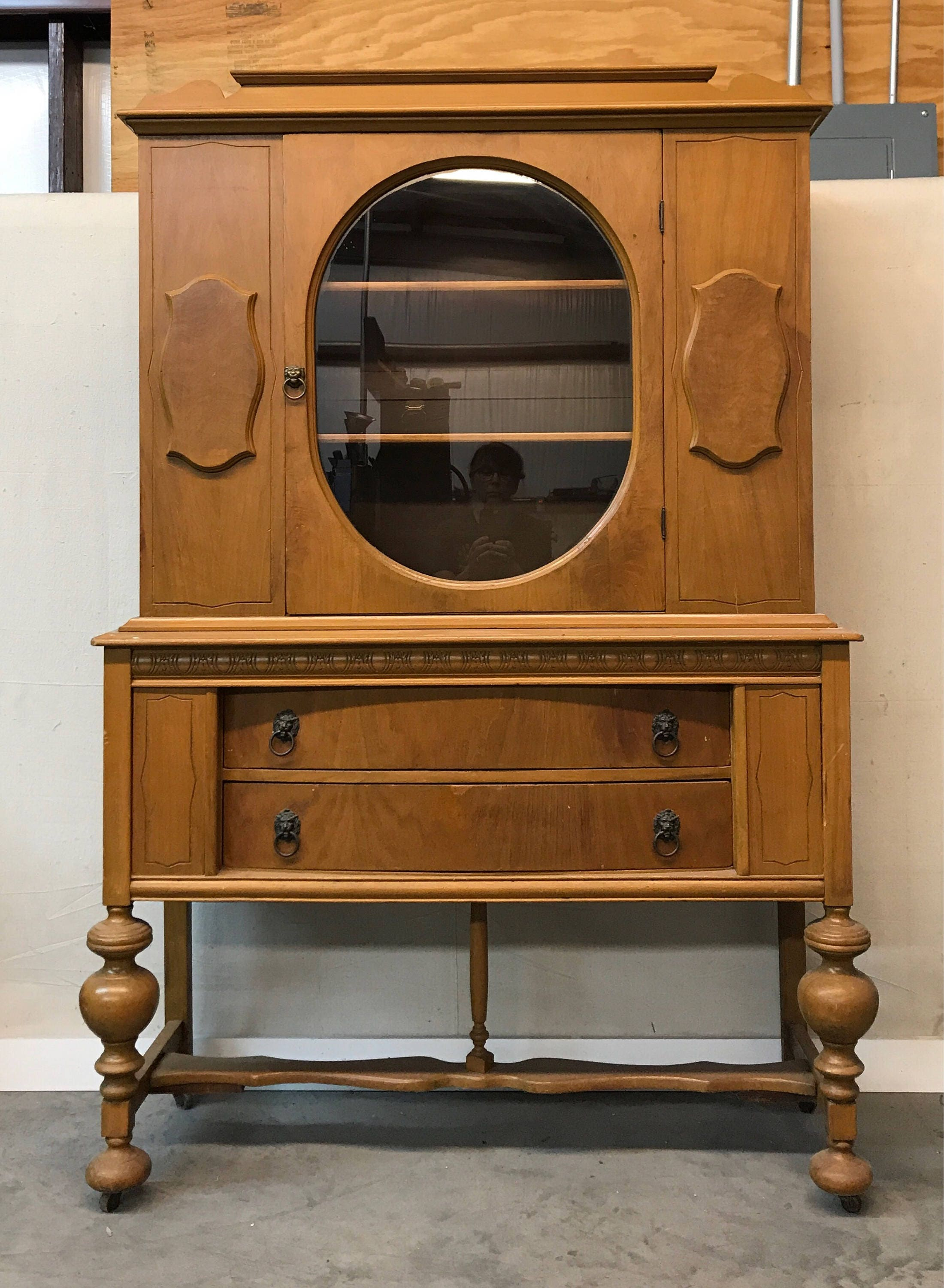 Available for Custom Paint and Finish - Antique Jacobean Style ...
