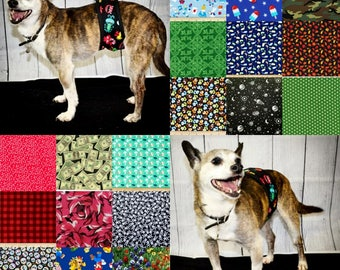 1 NEW FABRICS BELLYBAND Premium Quality Your Choice Fabric & Border Color/ Dog Diaper / Dog Potty Training Aid/ Incontinence Wrap / Male Dog
