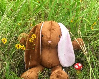Custom Stuffed Bunny - Bunny Rabbit - Cuddle Bunny - Long Eared Bunny Rabbit - Baby's First Bunny - Bunny Rabbit Plush - Bunny Rabbit Toy
