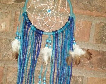 Dream Catcher - Blue Dream Catcher - Wall Decor - Wall Hanging