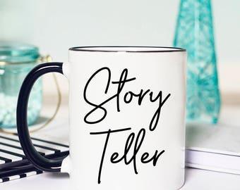 Story Teller, Photography Mug, Gift for Photographer, Gift for Wedding Photographer, Gift Idea for Photographer, Thank you Gift Photographer