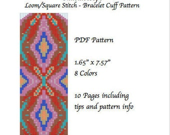 Bead Loom Pattern Kaleidoscope