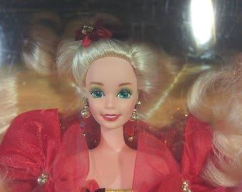 1993 Happy Holidays Barbie