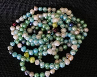 """NEW 72"""" Fresh Water Pearl Necklace 8mm - 9 mm Pearls"""