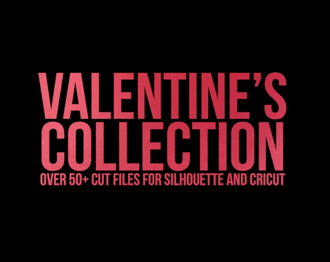 Featured listing image: sale // valentine's day collection // svg dxf file instant download silhouette cameo cricut clip art
