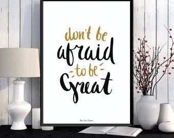 Inspirational quote poster, Design poster, Word art, Digital typography, Modern design, Home wall decor, Inspirational art, Quote print
