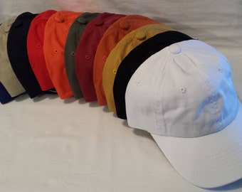 Custom Embroidered Hat / Custom Hat /  Personalized Hat / Custom Text / Custom Embroidery / Personalized Embroidery / Custom Cap