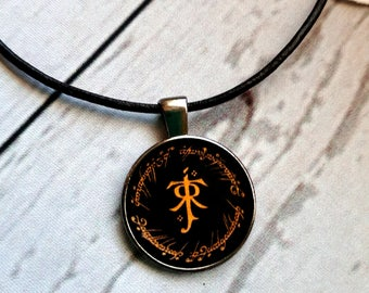 Silmarillion necklace, LOTR Necklace, silmarillion pendant,lord of the rings necklace,Tolkien, Lord of the Rings, Hobbit pendant necklace