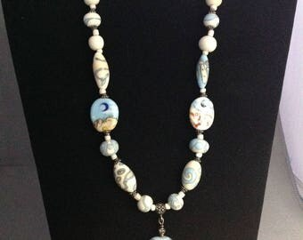 Moon over Desert Necklace