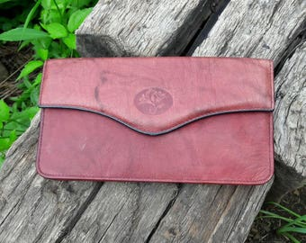 Vintage Buxton Leather Wallet
