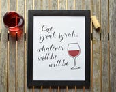 Printable Wine Art, Inspi...