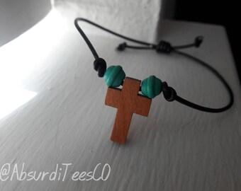 Cross Bracelet handmade