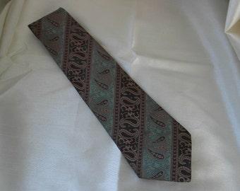 Vintage Paisley pattern St Michael Tie