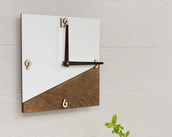 Contemporary Square Wall Clocks