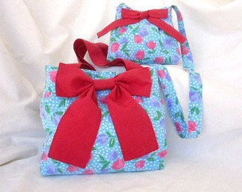 Mummy and me bags, Mini me bags, Tote bags, Small tote bag, Holiday gifts, Shoulder bag, Girls crossbody bag, Childs bag, little girls bag