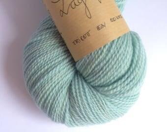 Lagoon - Skein of yarn organic Merino hand dyed