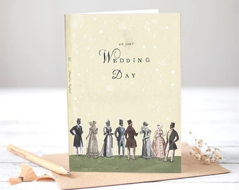 On your wedding day [Greetings Card]