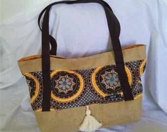 The Mandala: tote bag