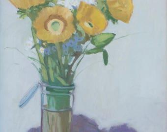 Sunflowers 20X16
