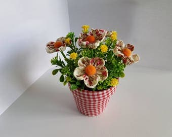 Fabric Flowers - Home Decor - Artificial Flowers - Gifts - Party Decoration – Handmade