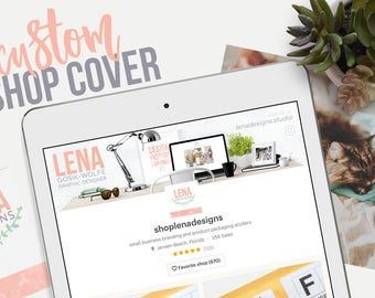 Etsy Cover Photo - Custom Shop Banner - Etsy Shop Banner - Cover Photo Design - Etsy Shop Graphics - Brand Design - Business Branding