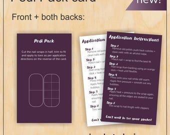 Pedi Pack - Jamberry Nails - Digital PDF file